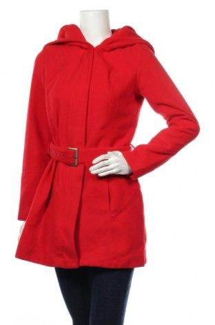 Дамско палто Jennifer Taylor, Размер M, Цвят Червен, 70% полиестер, 30% вискоза, Цена 61,95лв.
