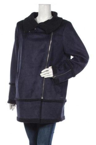 Дамско палто S.Oliver, Размер L, Цвят Син, 90% полиестер, 10% еластан, Цена 118,30лв.