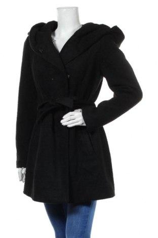 Дамско палто S.Oliver, Размер L, Цвят Черен, 50% полиестер, 35% полиакрил, 15% вълна, Цена 118,30лв.