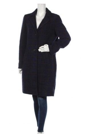 Дамско палто S.Oliver, Размер L, Цвят Син, 50% вълна, 30% полиестер, 20% акрил, Цена 139,30лв.