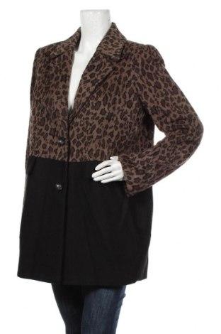 Дамско палто S.Oliver, Размер L, Цвят Многоцветен, 49% вълна, 37% вискоза, 14% полиакрил, Цена 146,30лв.