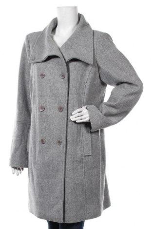 Дамско палто S.Oliver, Размер XL, Цвят Сив, 62% полиакрил, 34% полиестер, 4% вълна, Цена 125,30лв.