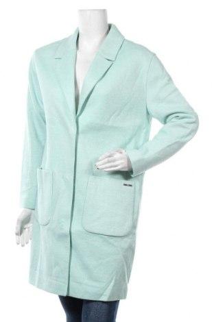 Дамско палто S.Oliver, Размер M, Цвят Син, 45% полиакрил, 32% полиестер, 23% вълна, Цена 111,30лв.