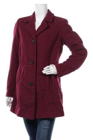 Дамско палто S.Oliver, Размер L, Цвят Розов, 70% полиестер, 30% вълна, Цена 104,30лв.