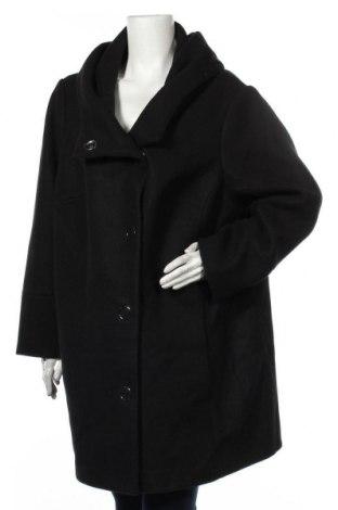 Дамско палто Triangle By s.Oliver, Размер XXL, Цвят Черен, 55% полиакрил, 40% полиестер, 5% вълна, Цена 167,30лв.