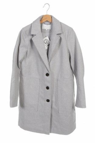 Дамско палто Vila, Размер S, Цвят Сив, Полиестер, Цена 69,30лв.