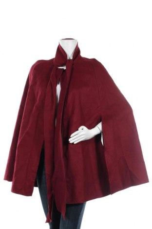 Дамско поларено пончо SHEIN, Размер M, Цвят Червен, Полиестер, Цена 18,43лв.
