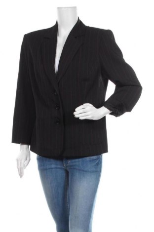 Дамско сако Adelina By Scheiter, Размер XL, Цвят Черен, 94% полиестер, 6% еластан, Цена 7,35лв.