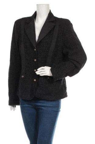 Дамско сако Apanage, Размер XL, Цвят Сив, Вълна, Цена 27,93лв.