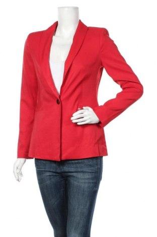 Дамско сако Comma,, Размер S, Цвят Червен, 96% вискоза, 4% еластан, Цена 98,47лв.