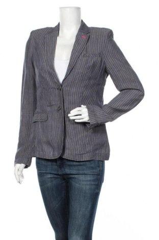 Γυναικείο σακάκι Esprit, Μέγεθος M, Χρώμα Μπλέ, Λινό, Τιμή 22,08€