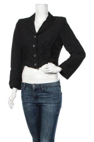 Дамско сако Evelin Brandt, Размер M, Цвят Черен, 65% вълна, 30% полиамид, 5% еластан, Цена 45,15лв.