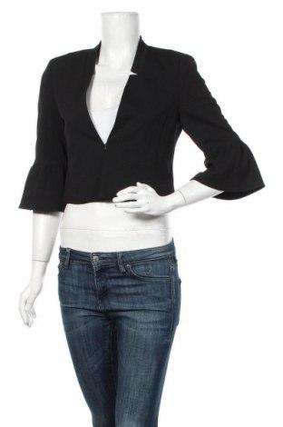 Дамско сако S.Oliver, Размер S, Цвят Черен, 96% полиестер, 4% еластан, Цена 64,07лв.