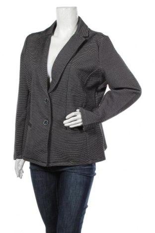 Дамско сако S.Oliver, Размер XL, Цвят Черен, 75% памук, 22% полиестер, 3% еластан, Цена 46,87лв.