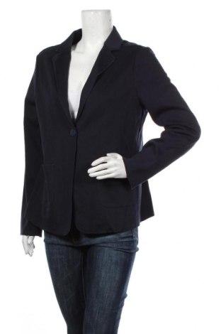 Дамско сако S.Oliver, Размер L, Цвят Син, 60% памук, 40% полиестер, Цена 64,35лв.