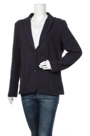 Дамско сако S.Oliver, Размер XL, Цвят Син, 74% памук, 24% полиестер, 2% еластан, Цена 46,87лв.