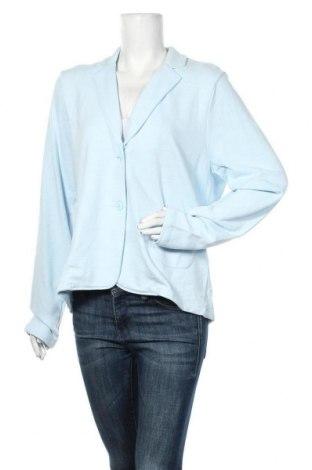 Дамско сако S.Oliver, Размер XL, Цвят Син, 74% памук, 26% вискоза, Цена 42,72лв.