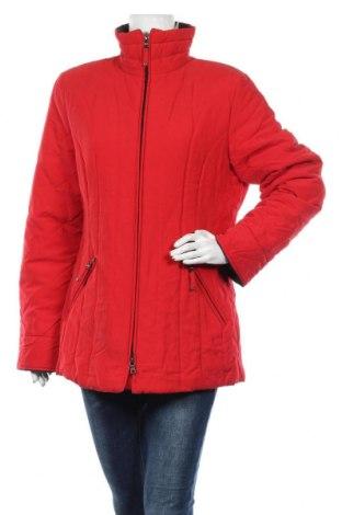 Дамско яке, Размер L, Цвят Червен, 88% полиестер, 12% полиамид, Цена 32,34лв.