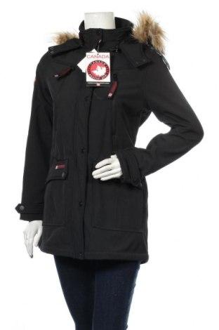 Γυναικείο μπουφάν Canada Weather Gear, Μέγεθος S, Χρώμα Μαύρο, 94% πολυεστέρας, 6% ελαστάνη, Τιμή 28,72€