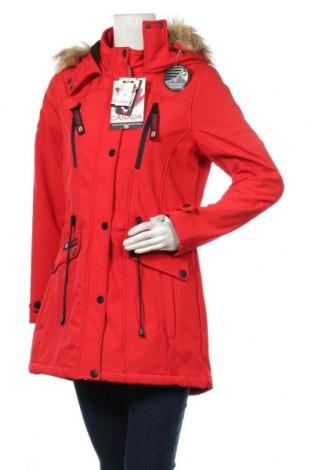 Dámská bunda  Canada Weather Gear, Velikost M, Barva Červená, 94% polyester, 6% elastan, Cena  1788,00Kč