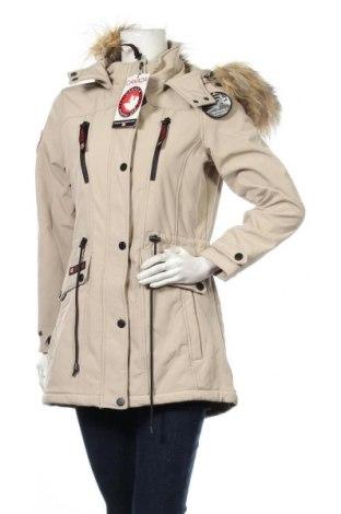 Γυναικείο μπουφάν Canada Weather Gear, Μέγεθος S, Χρώμα  Μπέζ, 94% πολυεστέρας, 6% ελαστάνη, Τιμή 27,70€