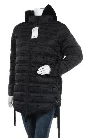 Дамско яке Desigual, Размер XL, Цвят Черен, Полиестер, Цена 141,47лв.