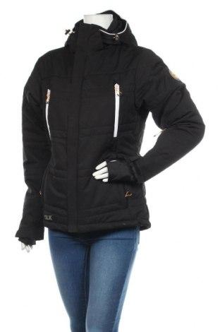 Дамско яке за зимни спортове DLX by Trespass, Размер M, Цвят Черен, 96% полиестер, 4% еластан, Цена 164,25лв.