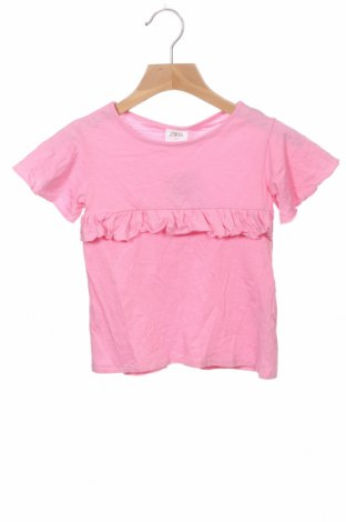 Детска блуза Zara Kids, Размер 3-4y/ 104-110 см, Цвят Розов, Памук, Цена 23,40лв.