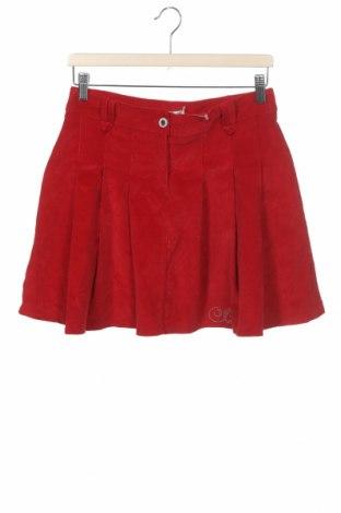 Детска пола, Размер 14-15y/ 168-170 см, Цвят Червен, Цена 5,88лв.