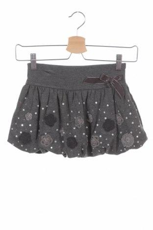 Παιδική φούστα Artigli, Μέγεθος 3-4y/ 104-110 εκ., Χρώμα Γκρί, 69% βισκόζη, 28% πολυαμίδη, 3% ελαστάνη, Τιμή 7,18€