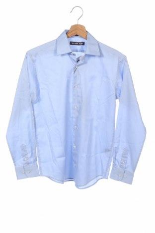 Παιδικό πουκάμισο Michael Kors, Μέγεθος 13-14y/ 164-168 εκ., Χρώμα Μπλέ, Βαμβάκι, Τιμή 44,26€