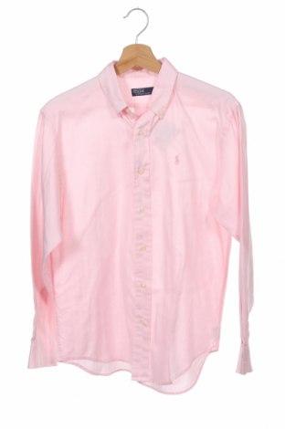 Dětská košile  Polo By Ralph Lauren, Velikost 15-18y/ 170-176 cm, Barva Růžová, Bavlna, Cena  539,00Kč