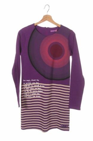 Детска рокля Desigual, Размер 13-14y/ 164-168 см, Цвят Многоцветен, Памук, Цена 58,50лв.