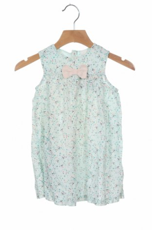 Rochie pentru copii H&M, Mărime 12-18m/ 80-86 cm, Culoare Albastru, Bumbac, Preț 59,21 Lei
