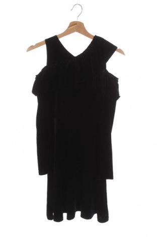 Детска рокля Here+There, Размер 10-11y/ 146-152 см, Цвят Черен, 90% полиестер, 10% еластан, Цена 5,51лв.