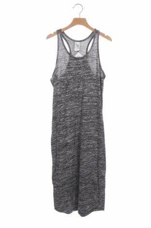 Dětské šaty  Here+There, Velikost 12-13y/ 158-164 cm, Barva Šedá, 44% viskóza, 37% bavlna, 17% polyester, 2% elastan, Cena  351,00Kč