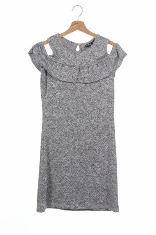 Детска рокля Pepperts!, Размер 12-13y/ 158-164 см, Цвят Сив, 51% вискоза, 47% полиестер, 2% еластан, Цена 4,73лв.