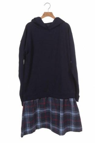 Dětské šaty  TCM, Velikost 15-18y/ 170-176 cm, Barva Modrá, Polyester, bavlna, Cena  383,00Kč