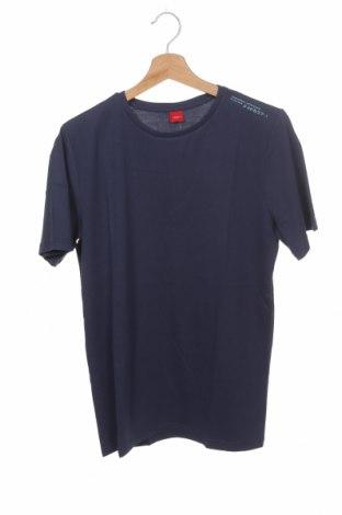 Детска тениска S.Oliver, Размер 15-18y/ 170-176 см, Цвят Син, Памук, Цена 18,85лв.
