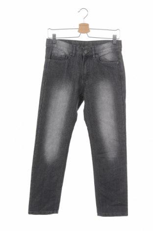 Dětské džíny  Y.F.K., Velikost 12-13y/ 158-164 cm, Barva Šedá, 60% bavlna, 40% polyester, Cena  217,00Kč