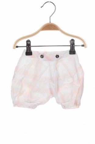 Παιδικό κοντό παντελόνι Burberry, Μέγεθος 1-2m/ 50-56 εκ., Χρώμα Λευκό, Βαμβάκι, Τιμή 27,32€
