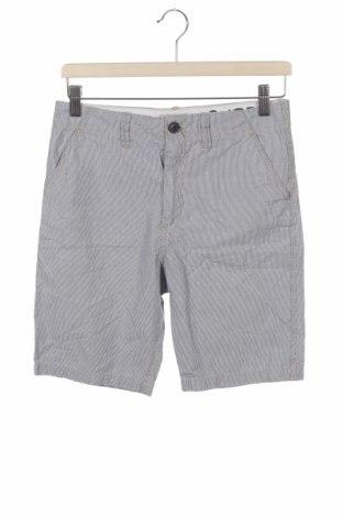 Pantaloni scurți pentru copii H&M L.O.G.G., Mărime 12-13y/ 158-164 cm, Culoare Albastru, Bumbac, Preț 54,28 Lei
