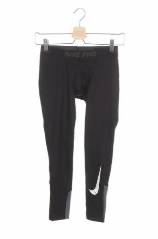 Dětské legíny  Nike, Velikost 8-9y/ 134-140 cm, Barva Černá, 88% polyester, 12% elastan, Cena  462,00Kč