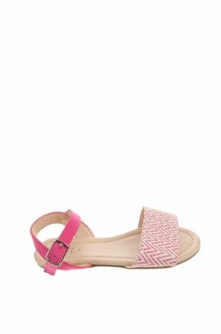 Детски сандали Lefties, Размер 26, Цвят Розов, Еко кожа, текстил, Цена 8,32лв.