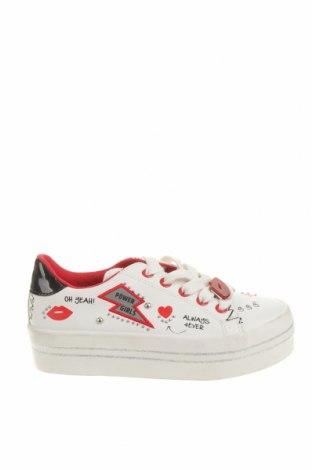 Детски обувки Lefties, Размер 30, Цвят Бял, Еко кожа, Цена 31,50лв.