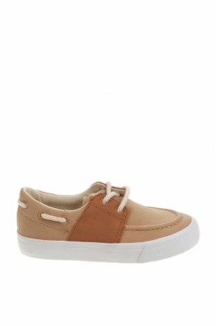 Детски обувки Lefties, Размер 26, Цвят Бежов, Еко кожа, Цена 12,25лв.