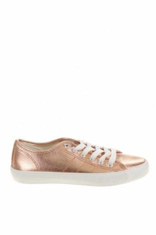 Детски обувки Lefties, Размер 35, Цвят Златист, Текстил, Цена 31,50лв.