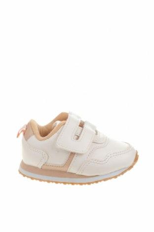Детски обувки Lefties, Размер 18, Цвят Бял, Еко кожа, Цена 31,50лв.