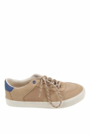 Детски обувки Lefties, Размер 34, Цвят Бежов, Текстил, еко кожа, Цена 36,75лв.