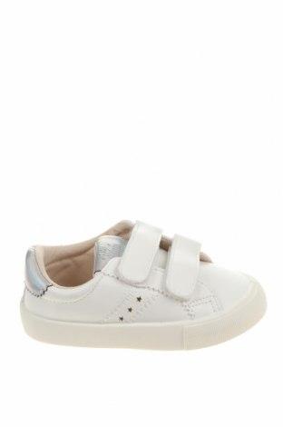 Детски обувки Lefties, Размер 23, Цвят Бял, Еко кожа, Цена 25,50лв.